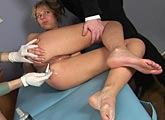 cumshots gyno chair
